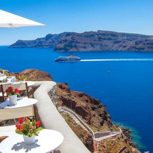 Luxury Greece Holiday Packages Oia Mare Villas Balcony View 2