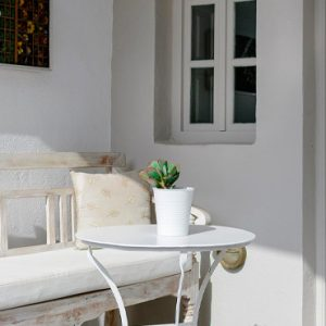 Luxury Greece Holiday Packages Oia Mare Villas Cave Suite Balcony