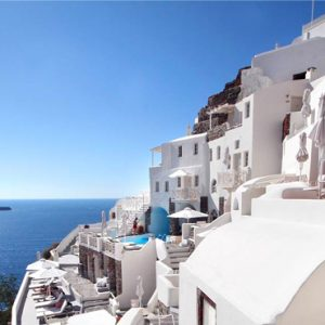 Luxury Greece Holiday Packages Oia Mare Villas Gallery Exterior 2