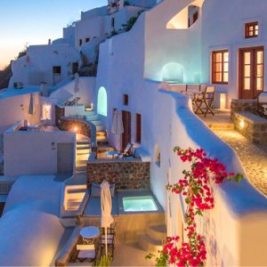 Luxury Greece Holiday Packages Oia Mare Villas Gallery Exterior