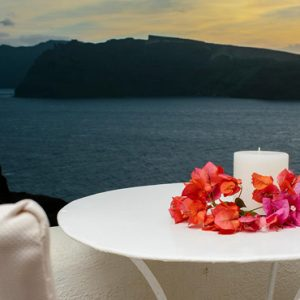 Luxury Greece Holiday Packages Oia Mare Villas Honeymoon Cave Suite 1