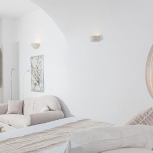 Luxury Greece Holiday Packages Oia Mare Villas Honeymoon Cave Suite With Hot Tub Bedroom 2