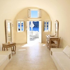 Luxury Greece Holiday Packages Oia Mare Villas Two Bedroom Cave Suite 1
