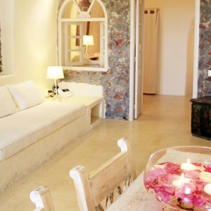 Luxury Greece Holiday Packages Oia Mare Villas Two Bedroom Cave Suite 2