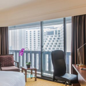Luxury Singapore Holiday Packages PARKROYAL On Marina Bay Family Room Bedroom