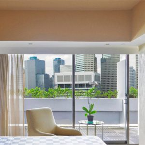 Luxury Singapore Holiday Packages PARKROYAL On Marina Bay PARKROYAL COLLECTION Suite Bedroom