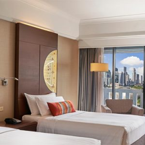 Luxury Singapore Holiday Packages PARKROYAL On Marina Bay Superior Room Bedroom 2