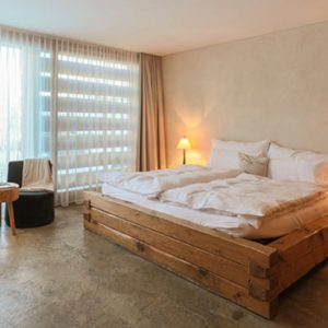 Luxury Switzerland Holiday Packages Guarda Val Farmer Room Bedroom