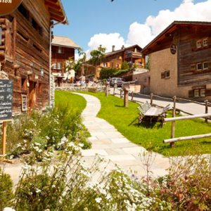 Luxury Switzerland Holiday Packages Guarda Val Gallery Exterior