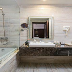 Luxury Vietnam Holiday Packages The Oriental Jade Hotel Connecting Room Bathroom