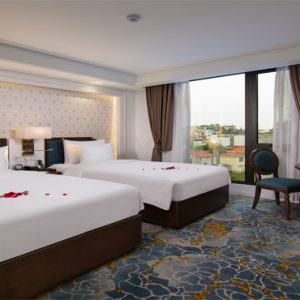 Luxury Vietnam Holiday Packages The Oriental Jade Hotel Sapphire Old Quarter View Room