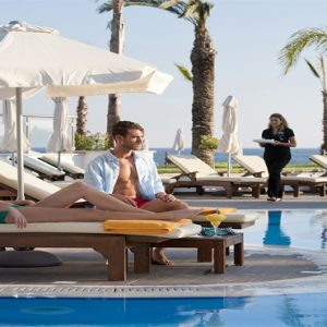 Luxury Cyprus Holiday Packages Olympic Lagoon Resort Paphos Serenity Pool Bar