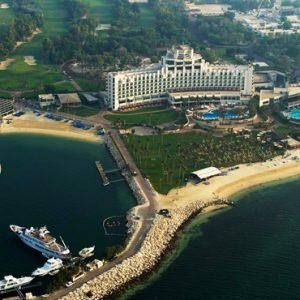 Luxury Dubai Holidays JA Lake View Hotel Aerial View