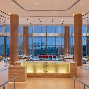 Luxury Dubai Holidays JA Lake View Hotel Bar