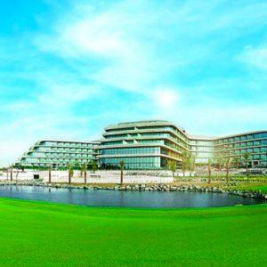 Luxury Dubai Holidays JA Lake View Hotel Exterior