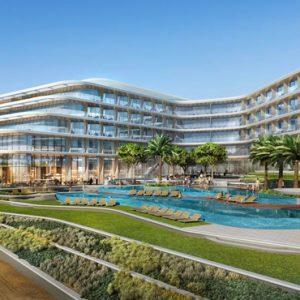 Luxury Dubai Holidays JA Lake View Hotel Exterior 2