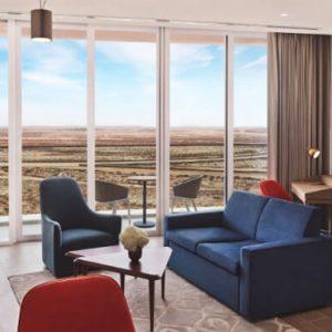 Luxury Dubai Holidays JA Lake View Hotel Junior Suite Living Room