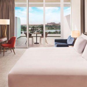 Luxury Dubai Holidays JA Lake View Hotel Luxury Two Bedroom Suite Bedroom
