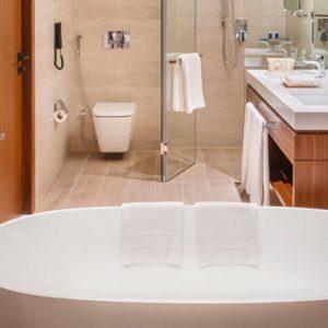 Luxury Dubai Holidays JA Lake View Hotel Resort Course One Bedroom Suite Bathroom