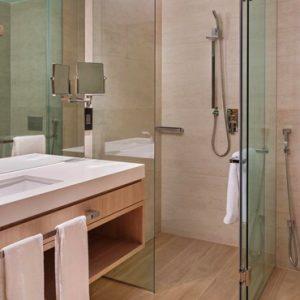Luxury Dubai Holidays JA Lake View Hotel Bathroom