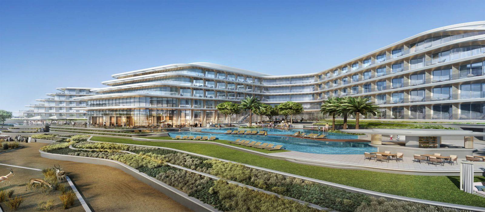 Luxury Dubai Holidays JA Lake View Hotel Header