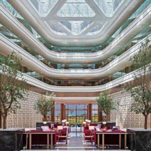Luxury Dubai Holidays JA Lake View Hotel Lobby