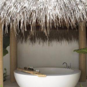 Luxury Maldives Holidays Fairmont Maldives Sirru Fen Fushi Beach Sunset Villa 1