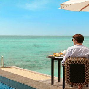 Luxury Maldives Holidays Fairmont Maldives Sirru Fen Fushi Breakfast Dining