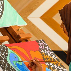 Luxury Maldives Holidays Fairmont Maldives Sirru Fen Fushi Canvas Painting
