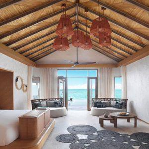 Luxury Maldives Holidays Fairmont Maldives Sirru Fen Fushi In Villa Dining