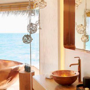 Luxury Maldives Holidays Fairmont Maldives Sirru Fen Fushi Three Bedroom Water Sunset Villa 1