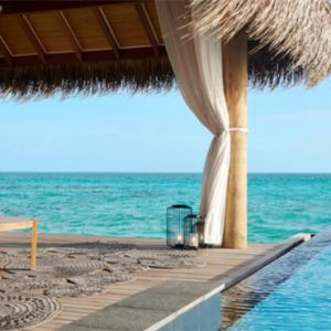 Luxury Maldives Holidays Fairmont Maldives Sirru Fen Fushi Two Bedroom Water Sunset Villa