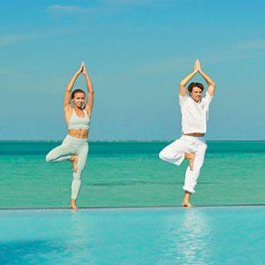 Luxury Maldives Holidays Fairmont Maldives Sirru Fen Fushi Yoga