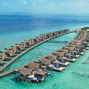 Luxury Maldives Holidays Fairmont Maldives Sirru Fen Fushi Aerial View