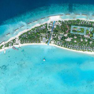 Luxury Maldives Holidays Fairmont Maldives Sirru Fen Fushi Aerial View1