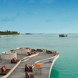Luxury Maldives Holidays Fairmont Maldives Sirru Fen Fushi Deck Ocean View