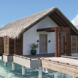 Luxury Maldives Holidays Fairmont Maldives Sirru Fen Fushi Water Sunrise Villa Exterior
