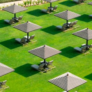 Garden Aerial View Le Royal Meridien Beach Resort & Spa Dubai Holidays