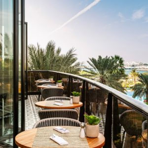 Le Royal Club Lounge Terrace 1 Le Royal Meridien Beach Resort & Spa Dubai Holidays
