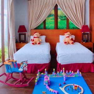 Luxury Bali Holidays FuramaXclusive Resort & Villas Duplex Family Pool Villa 5