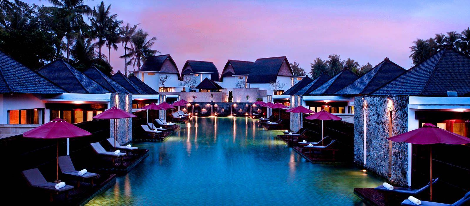 Luxury Bali Holidays FuramaXclusive Resort & Villas Header