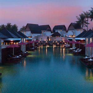 Luxury Bali Holidays FuramaXclusive Resort & Villas Main Pool