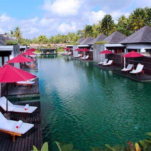 Luxury Bali Holidays FuramaXclusive Resort & Villas Main Pool 1