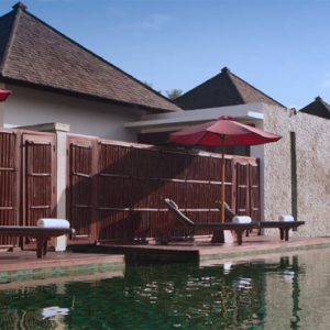 Luxury Bali Holidays FuramaXclusive Resort & Villas Main Pool 2
