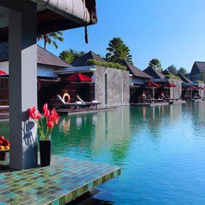 Luxury Bali Holidays FuramaXclusive Resort & Villas Main Pool 3