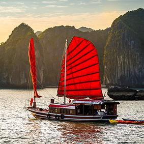 Luxury China Holiday Excursion Halong Bay Thumbnail
