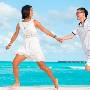 Luxury Maldives Holidays Hideaway Beach Resort Couple