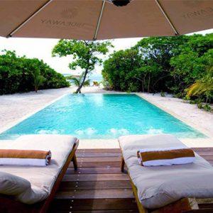 Luxury Maldives Holidays Hideaway Beach Resort Deluxe Sunset Beach Villa Pool 2