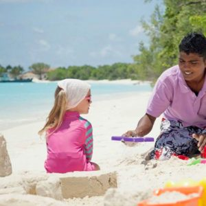 Luxury Maldives Holidays Hideaway Beach Resort Family Villa With Pool