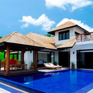 Luxury Maldives Holidays Hideaway Beach Resort Family Villa With Pool 1